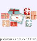 禮品盒 信件 信 27633145