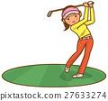 高尔夫 高尔夫球手 夫人 27633274