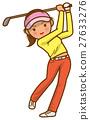 高尔夫 高尔夫球手 夫人 27633276