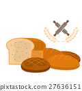 set of bakery bread vector 27636151