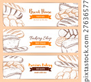 bread, sketch, bakery 27636577