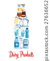 milk dairy vector 27636652