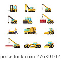 Heavy construction machine set. 27639102