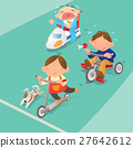 Racing game among boys 27642612