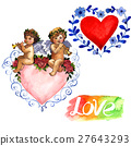 Happy Valentines Day love celebration in a 27643293