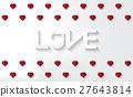 love, heart, background 27643814