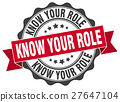 know your role stamp. sign. seal 27647104
