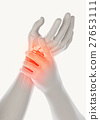 Wrist painful - skeleton x-ray. 27653111