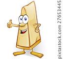 italian cheese cartoon isolated  27653445