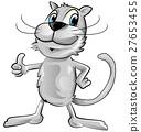 funny cat cartoon 27653455
