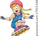 Kid Girl Roller Skates 27655308