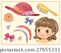 Kid Girl Vintage Hair Accessories 27655331