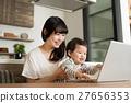 부모와 자식, 컴퓨터, 인물 27656353