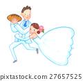 wedding, bride, bridegroom 27657525