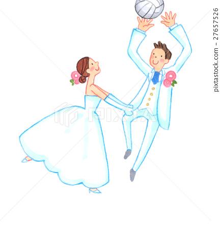 wedding, bride, bridegroom 27657526