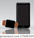 Smart electronic intelligence watch phone. 27666394