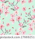 水彩畫 水彩 花朵 27669251