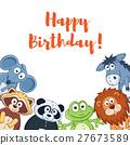 cartoon, animal, happy 27673589