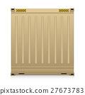 Cargo Container Vector 27673783