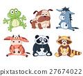 animal, vector, cartoon 27674022