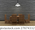 chair,table,lamp 27674332