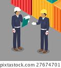 工人 勞動者 男性 27674701
