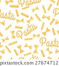 pasta vector seamless 27674712