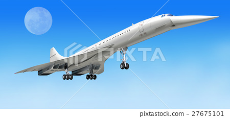 Concorde supersonic airliner aircraft. 27675101