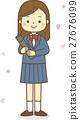 卒業 女の子 27676099