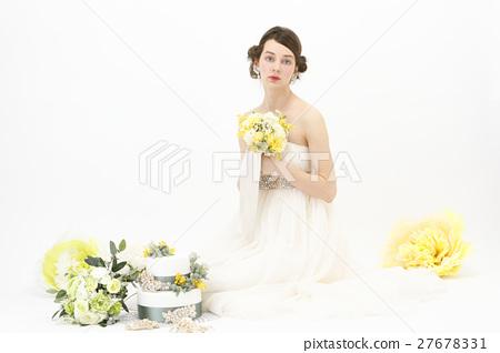婚礼 女生 女孩 27678331