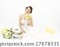 婚禮 成熟的女人 一個年輕成年女性 27678335