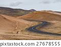 road, hill, curve 27678555
