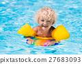 水池 游泳 男孩 27683093
