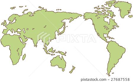 世界地圖 27687558