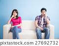 young couple feel bad 27692732