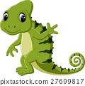 Cartoon cute Chameleon 27699817