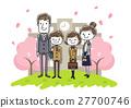 入学典礼 父母 女孩 27700746