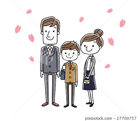 小学一年级学生 家庭 家族 27700757