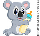 illustration of Cute koala cartoon 27701313