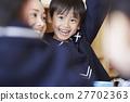 午餐时间的孩子们 27702363