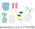 cleaning tools, vector, vectors 27704586