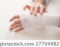 부상, 상처, 손목 27704982