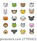 Animal and Pets Icons 27705822