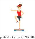 女人 女性 有氧运动 27707786