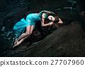 woman sea dress 27707960