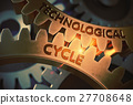 Technological Cycle on Golden Cog Gears. 3D 27708648