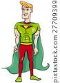 superhero cartoon character 27709399