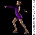 Young girl figure skater 27715088