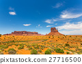 Scenic sandstones landscape at Monument Valley 27716500