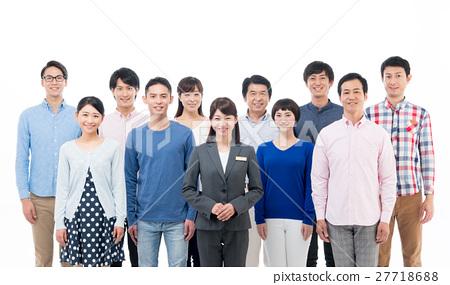 비즈니스 우먼과 사람들 27718688